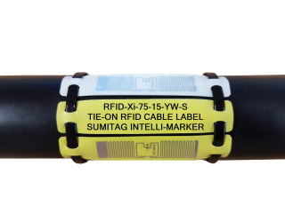 RFID-Xi Cable Label - RFID Zero Halogen and UV Stable Cable Label
